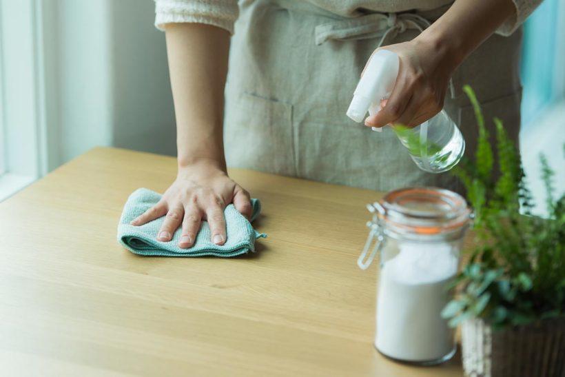 セスキ炭酸ソーダを利用したナチュラルクリーニング(お掃除)のイメージ