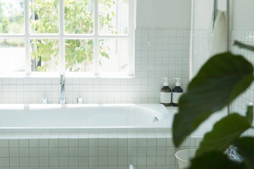 クエン酸を利用した浴室のナチュラルクリーニング(お掃除)のイメージ